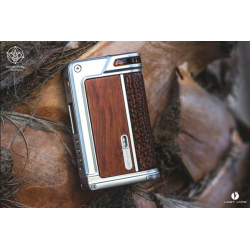 Paranormal DNA75C Silver / Wood - Lost Vape