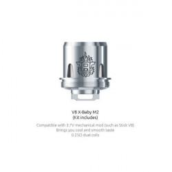 Résistances M2 pour TFV8 X-Baby par 5 - Smoktech