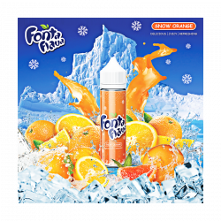 Snow Orange TPD 60ML Arôme Boosté - Fun Flava