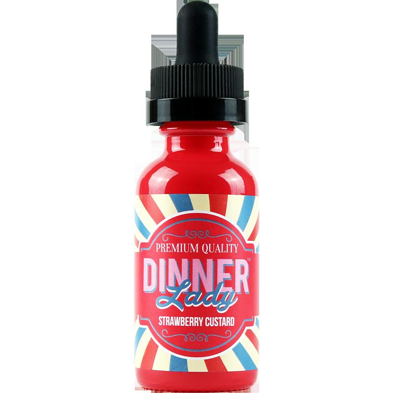 Strawberry Custard 50ML - Dinner Lady