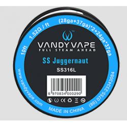 Juggernaut SS316L Wire - Vandy Vape