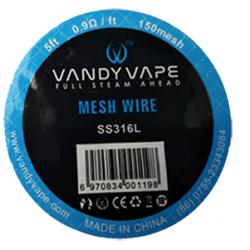 Mesh SS316L 0.9 - Vandy Vape