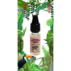 Banana Strawberry Cream 10ML Aroma Concentré - JungleJuices