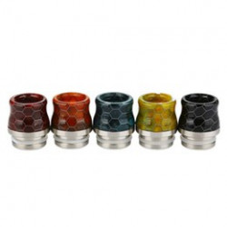SnakeSkin Resin Drip Tip 510 pour TFV8 Baby