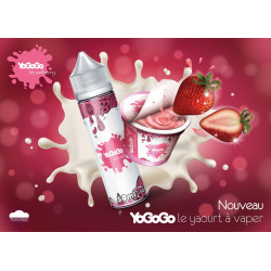 Strawberry 50ML+10ML Nico10 - YoGoGo