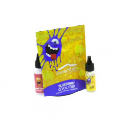 Blueberry Cool Mint 10ML Concentré - Sensation Malaysian
