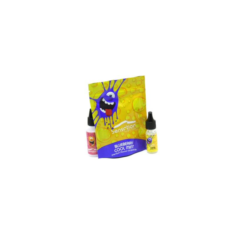Blueberry Cool Mint 10ML Concentré - Sensation Malaysian