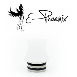 Drip Tip 510 White Pom - E-Phoenix
