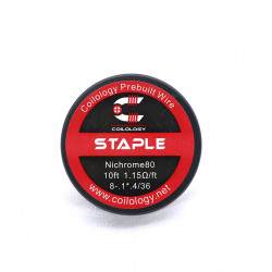 Spool Wire Staple ( SS / Ni80 ) - Coilology