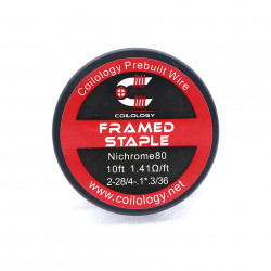 Spool Wire Framed Staple par lot de 10 - Coilology