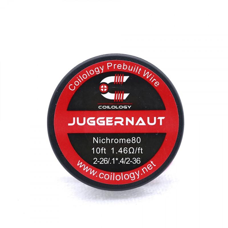 Spool Wire Juggernaut ( SS / Ni80 ) - Coilology