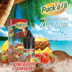Pineapple Strawberry 10ML - Pack à l'Ô
