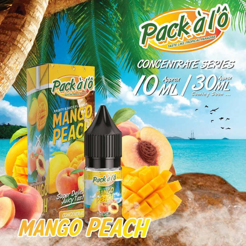 Mango Peach 10ML - Pack à l'Ô