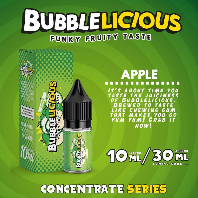 Apple 10ML - Bubblelicious
