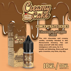 Chocolate Vanilla Cake 10ML - Creamy Cake