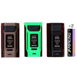 Reuleaux RX2 20700 avec Accus 6000mAh - Wismec