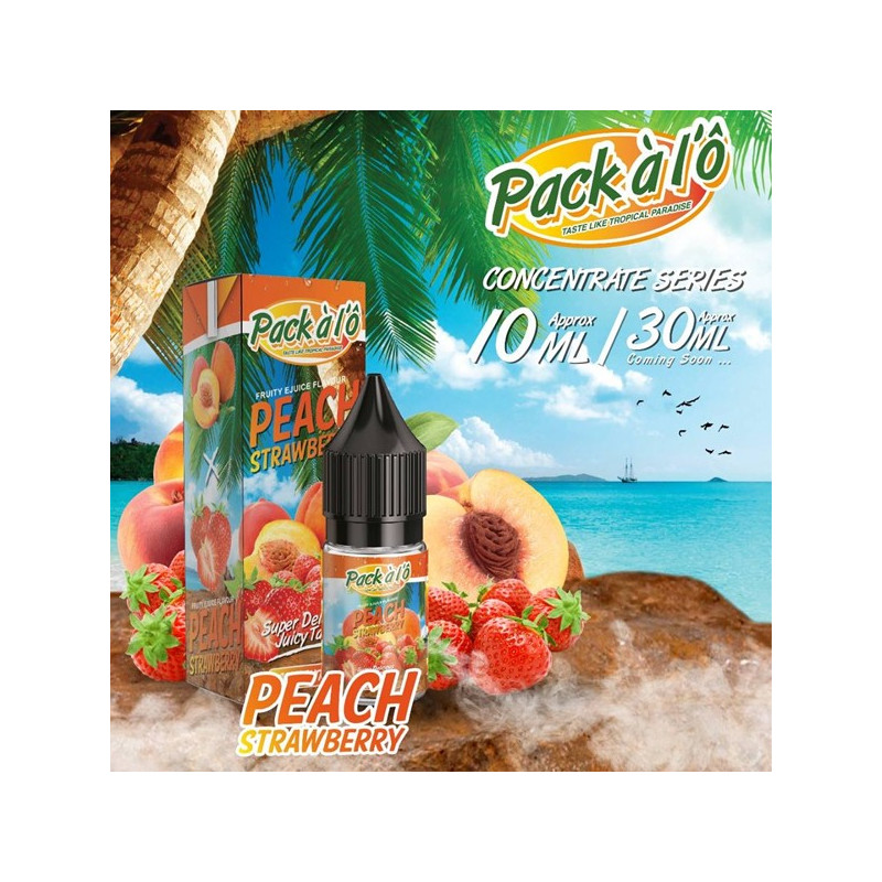 Peach Strawberry 10ML - Pack à l'Ô