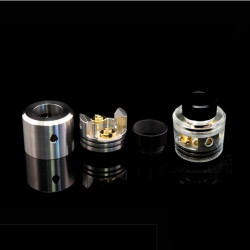 Odis 25 BF RDA Edition Top Cap Polished Clear - Odis Collection