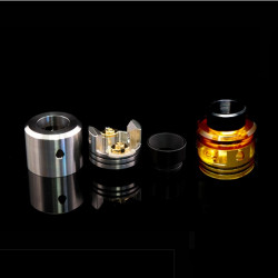 Odis 25 RDA Edition Top Cap Polished Ultem - Odis Collection