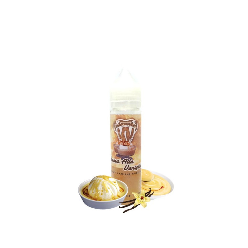 Crema Alla Vaniglia TPD 50ML Arôme Boosté - Viper Labs