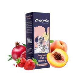 Pomegranate Peach Strawberry 10ML - CrazyMix