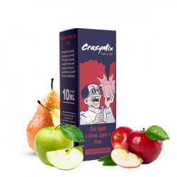 Red Apple Green Apple Pear 10ML - CrazyMix