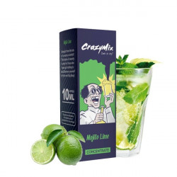 Mojito Lime Concentré 10ML - CrazyMix