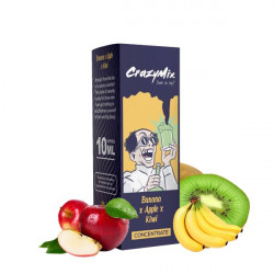 Banana x Apple x Kiwi Concentré 10ML - CrazyMix
