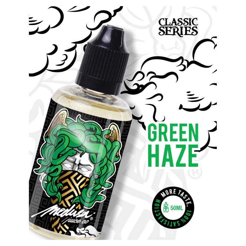 green haze - 50 ML - boosté arôme - medusa