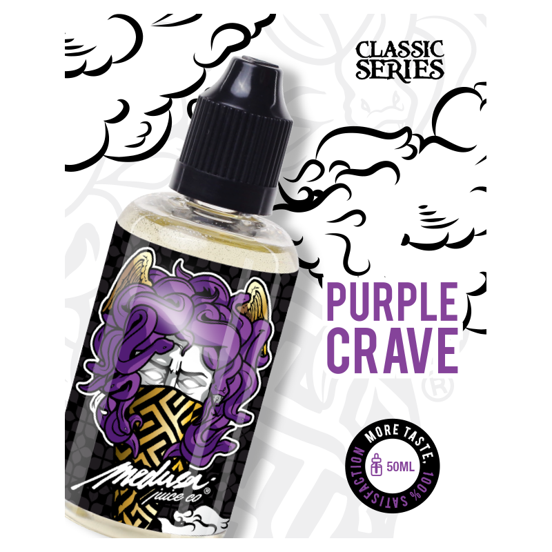 purple vodka - 50ML - boosté arôme - medusa
