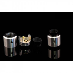 Odis 25 BF RDA Edition Top Cap Polished Ultem - Odis Collection