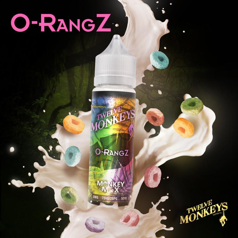 Orangz 50ML - 12 Monkeys