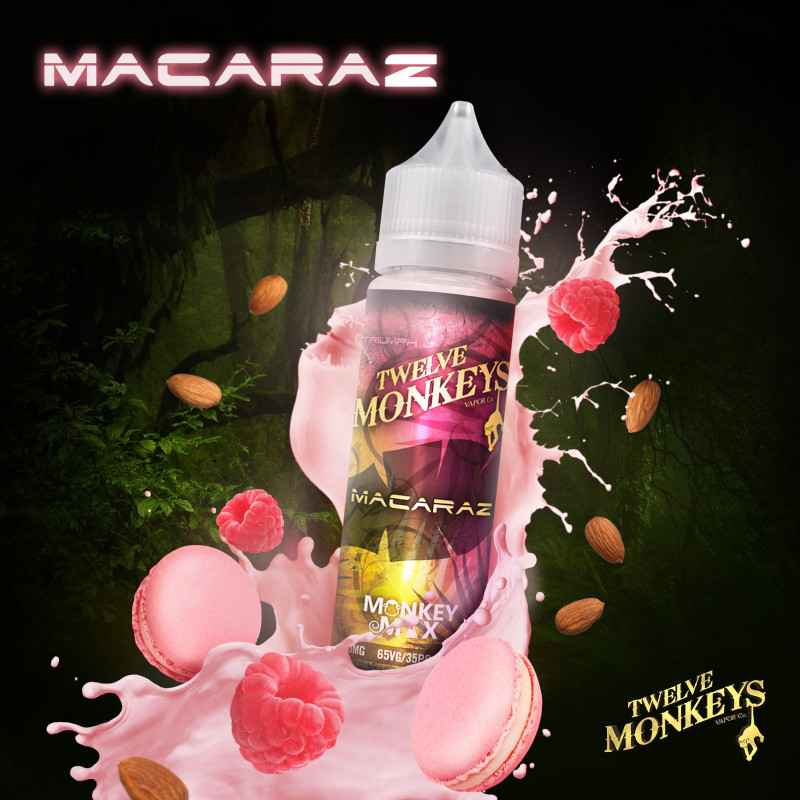 Macaraz 50ML - Twelve Monkeys VAPOR Co.