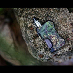 Box 13Mech Squonker Wood Door Cold Edition - Thir13en Modz