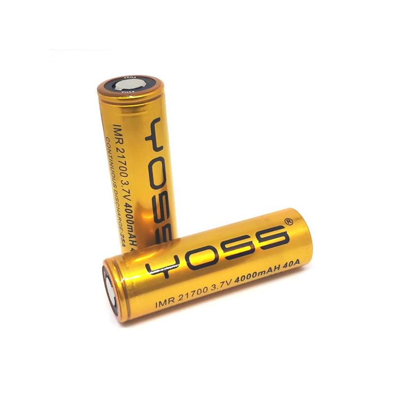 Accu Yoss 21700 - 40A / - 4000mAh