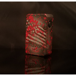 Squonker V3 Edition America Blood Splatter Box - Armageddon Mfg