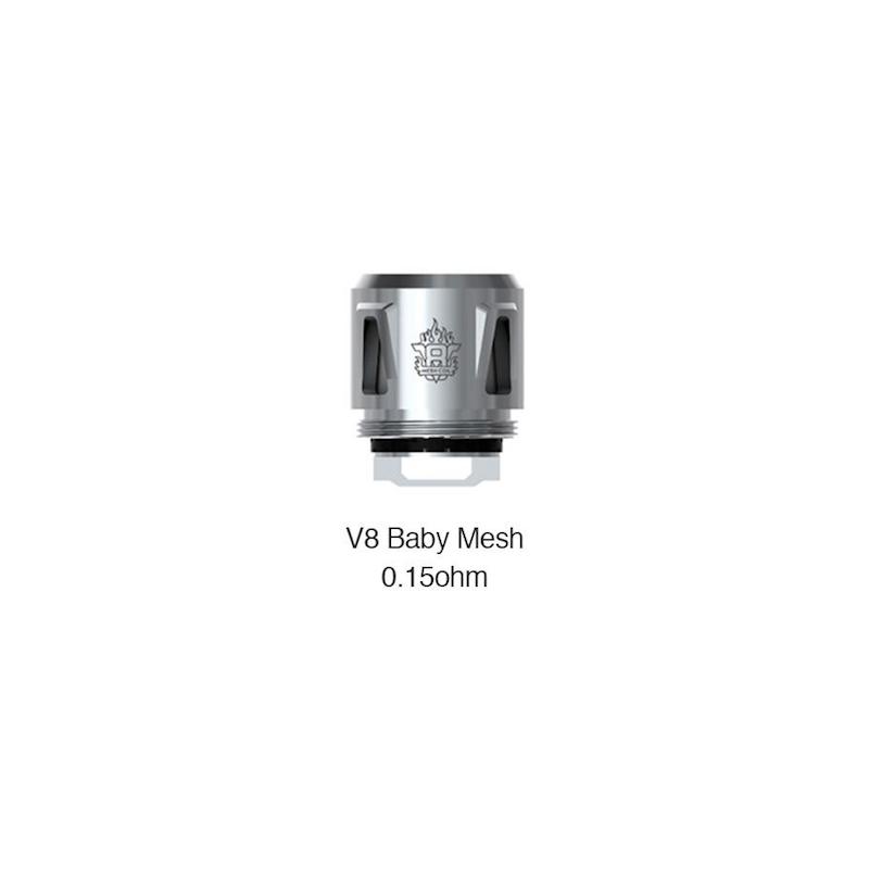 Résistances V8 Baby Mesh par 5 - Smoktech