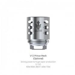 Résistances TFV12 Prince Mesh par 3 - Smoktech