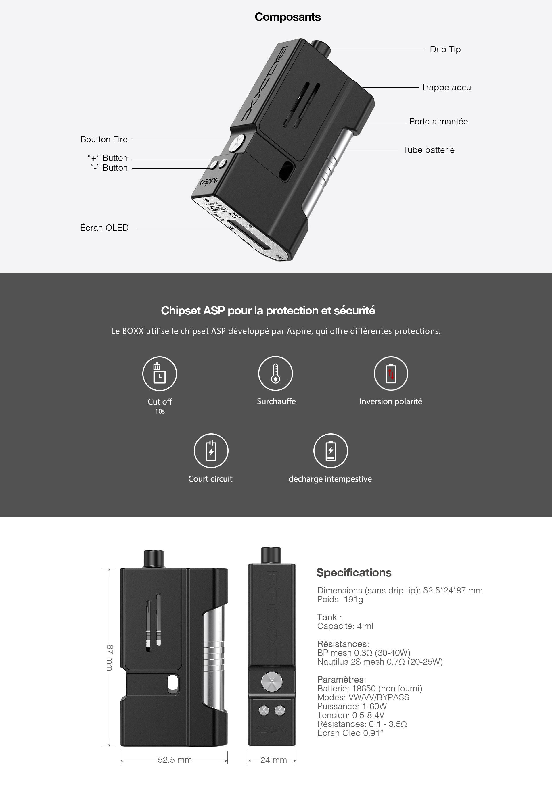 Kit Boxx Aspire Prestige SunBox Atmizoo – Anteprima