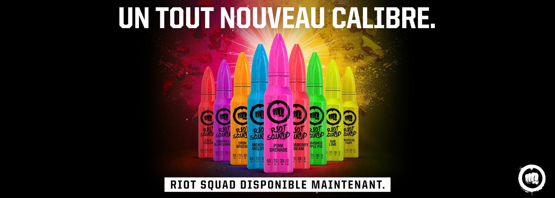 Riot Squad en 50ML chez LCA Distribution !!!