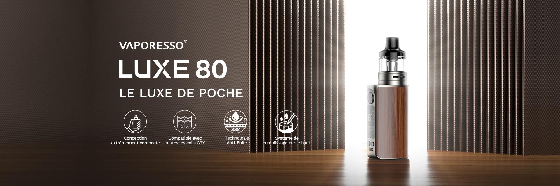Vaporesso - kit luxe 80 / 80SE by vaporesso - lca distribution